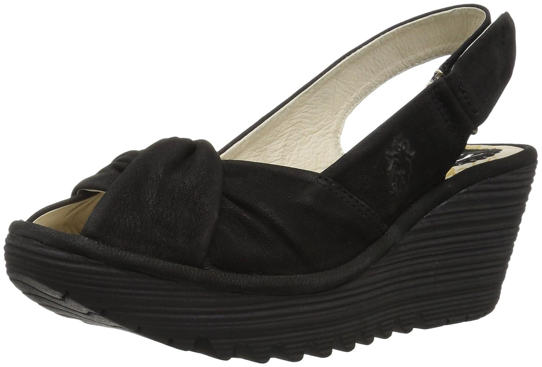 ad9efd1c Amazon.com | FLY London Women's Yata820fly Wedge Sandal | Platforms & Wedges
