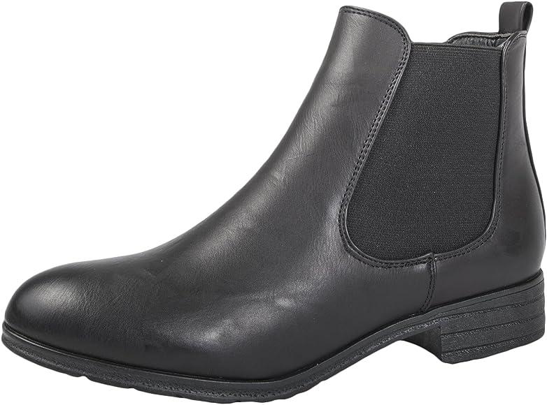 Lora Dora Womens Faux Leather Low Heel
