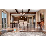 Regalo 192-Inch Super Wide Adjustable Gate and Play Yard, 2-In-1