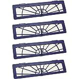 Filtres High-Performance Pièces de Rechange pour Neato Botvac Connected D3 D5 & Botvac D Serie D75 D80 D85 & Botvac 70e 75 80 85 Pièces Kit, Pack of 4