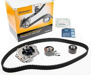 Continental Contitech ct1010wp1 Bomba de agua + kit correa de distribución: Amazon.es: Coche y moto