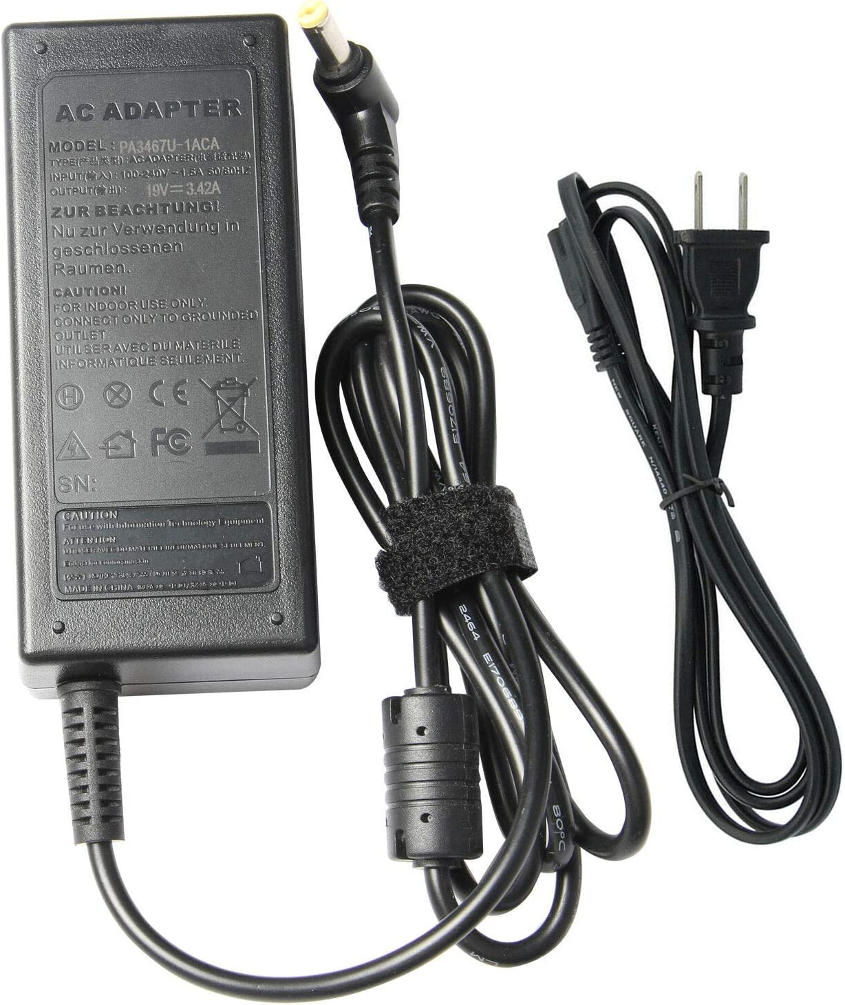 FYL AC Adapter Cord Battery Charger for Acer Aspire 5736Z-4418 5551-2036 Laptop
