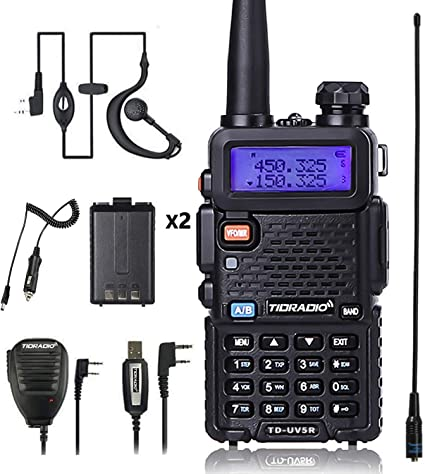 Amazon.com: Radio UV5R de 5 W, versión actualizada de ...