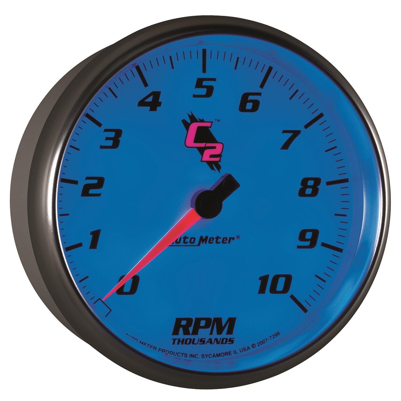 Auto Meter 7298 C2 5 10000 RPM In-Dash Tachometer