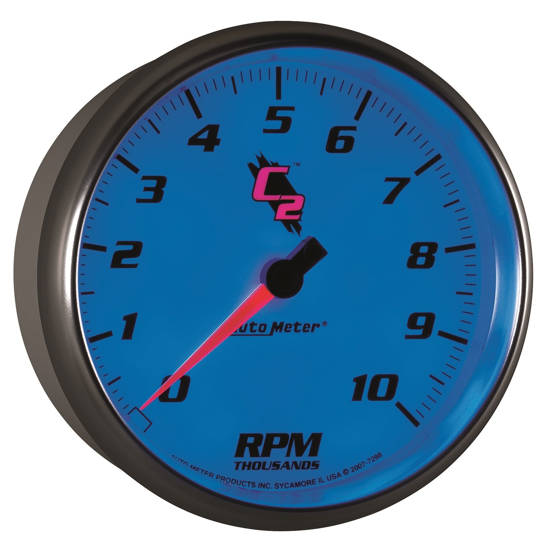 Auto Meter 7298 C2 5'' 10000 RPM In-Dash Tachometer by AUTO METER