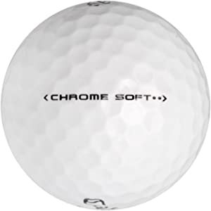 Callaway 50 Chrome Soft - Value (AAA) Grade - Recycled (Used) Golf Balls,White