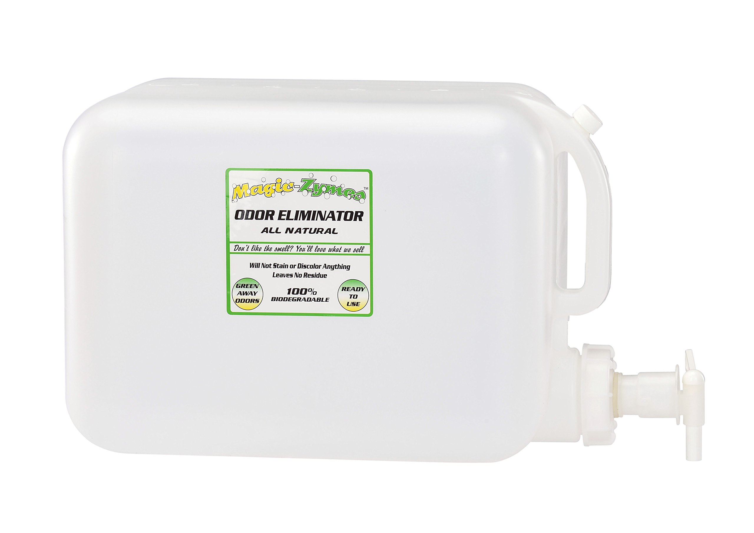 Magic-Zymes All Natural Odor Remover 5 Gallon Bottle by Magic-Zymes (Image #2)