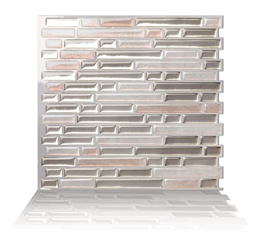 Tic Tac Fliesen Mosaik Abziehen und Aufkleben Wand Fliesen in ...