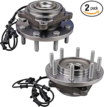 NEW For 2012-2013 Ram 2500 4x4 Wheel Hub Assembly OE Replacement FRONT PAIR