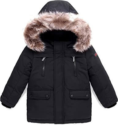 Uwback Winter Baby Boys Hooded Coat Fleece Jackets