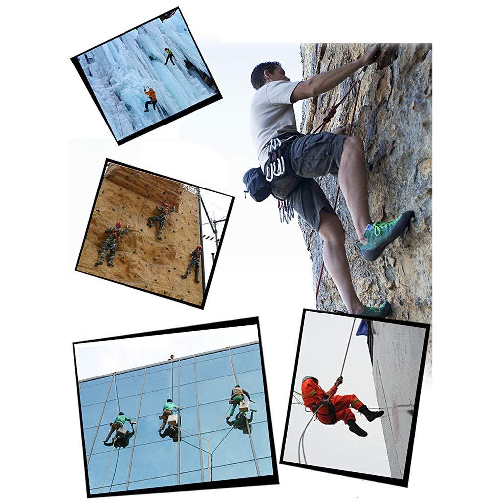 Klettern Seil 12mm Baum Wand Kletterausrüstung Outdoor Survival Escape Escape Escape Sicherheit Seil Karabiner 10 mt 15 mt 20 mt 25 mt 30 mt 40 mt 50 mt B07K99479W Einfachseile Mode dynamisch 592394