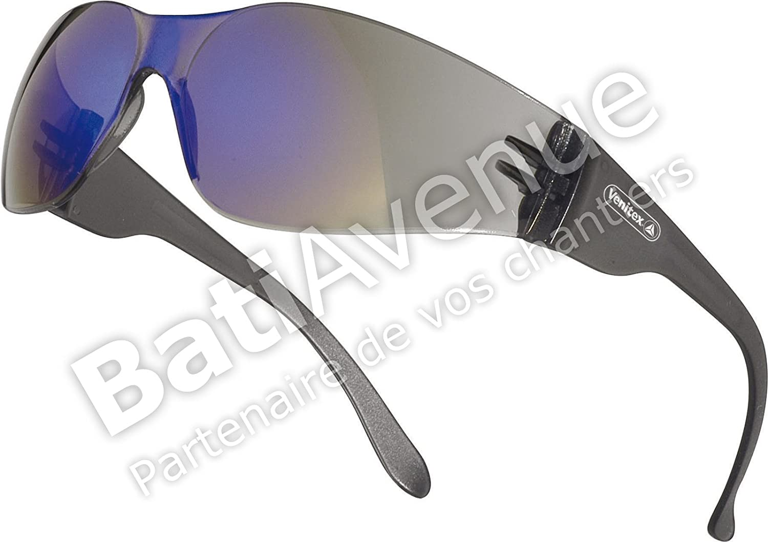 Delta Plus Venitex BRAVA 2 Light Mirror Safety Glasses BRAV2FF