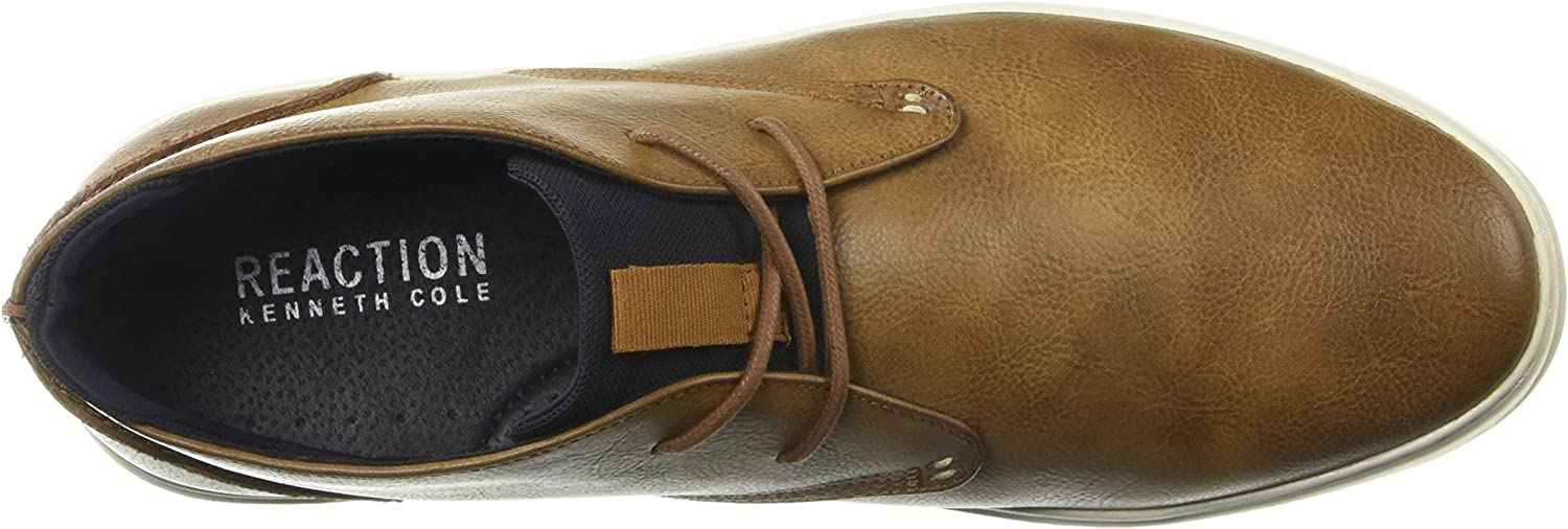 Kenneth Cole REACTION Men's Indy Sneaker D Cognac
