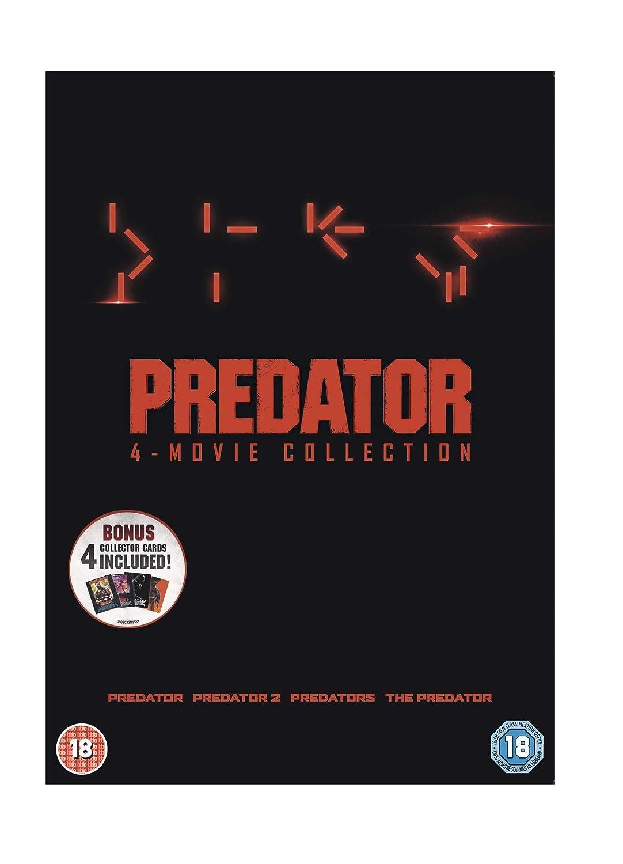 Amazon Com Predator 4 Movie Collection Dvd Movies Tv