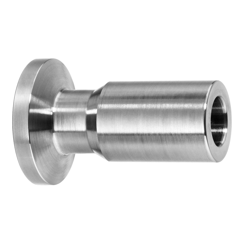 2-1//2 Tube OD Tank Ferrule USA Sealing Sanitary Fitting 316 Stainless Steel