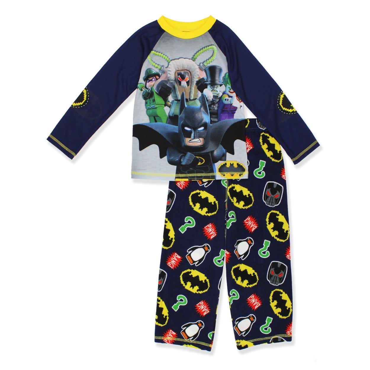Little Kid//Big Kid Batman Classic Boys Fleece Pajama Sleep Pants