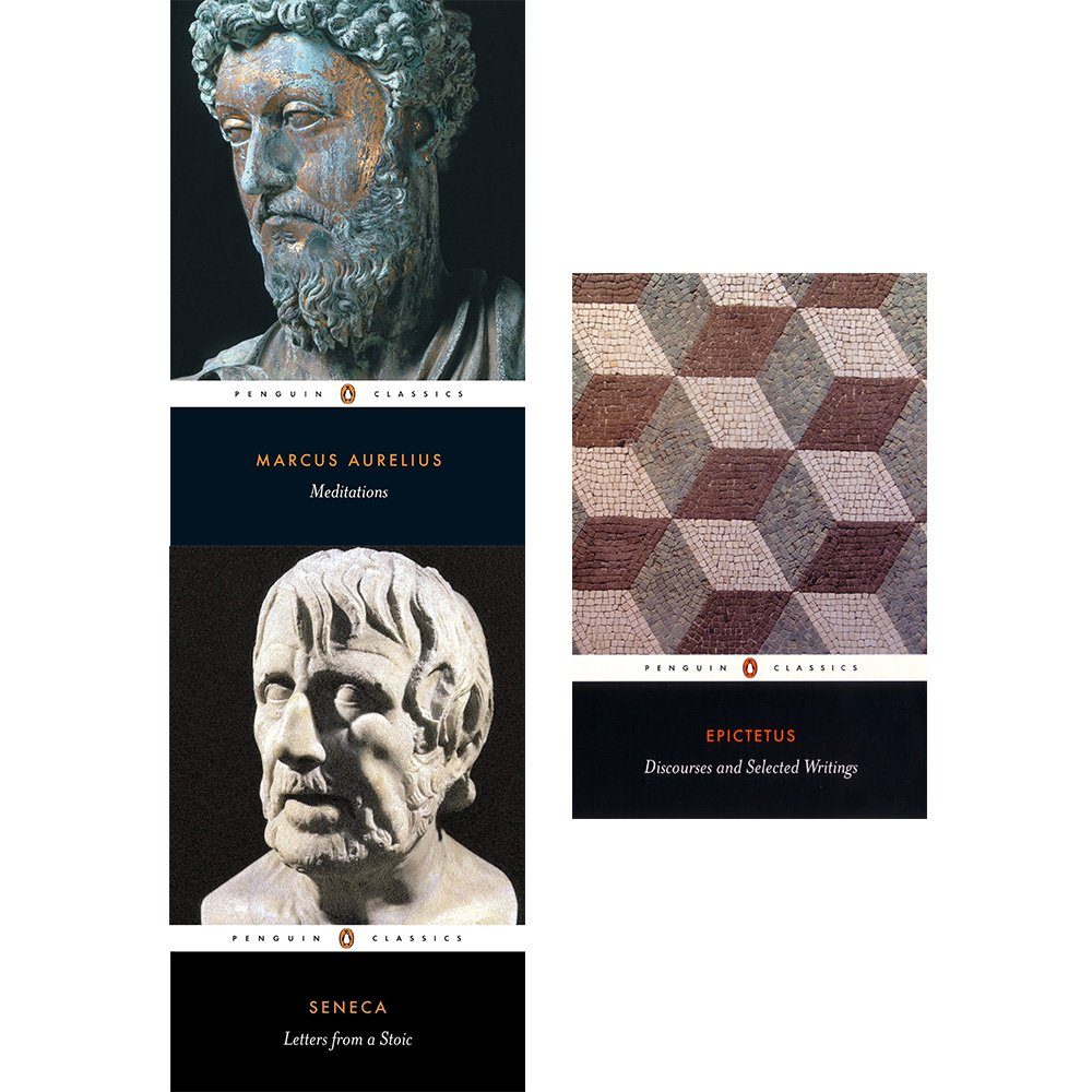 Meditations, letters from a stoic and discourses and selected writings 3 books collection set PDF