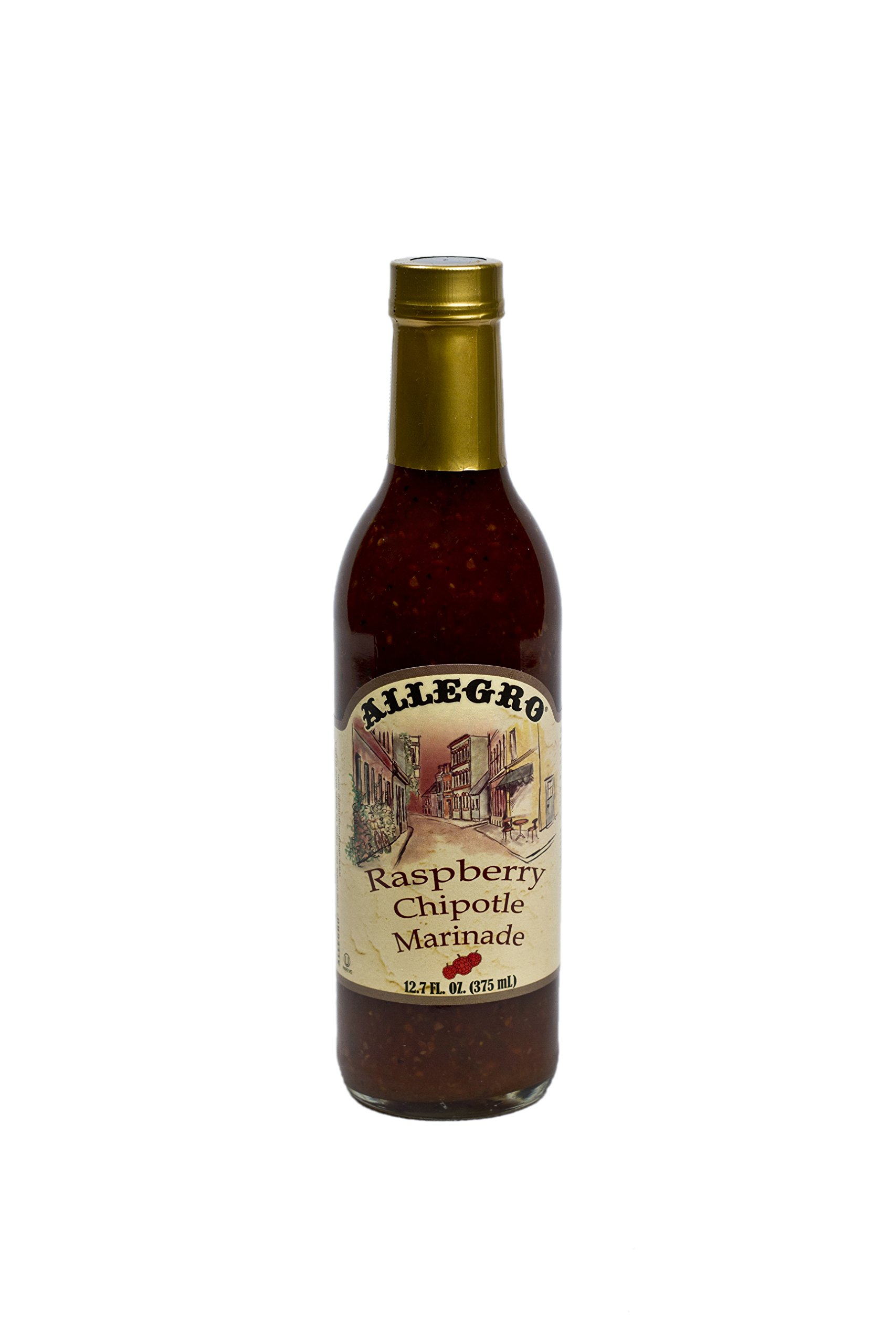 Allegro Raspberry Chipotle Marinade, 12.7-Ounce Glass (Pack of 6) by Allegro