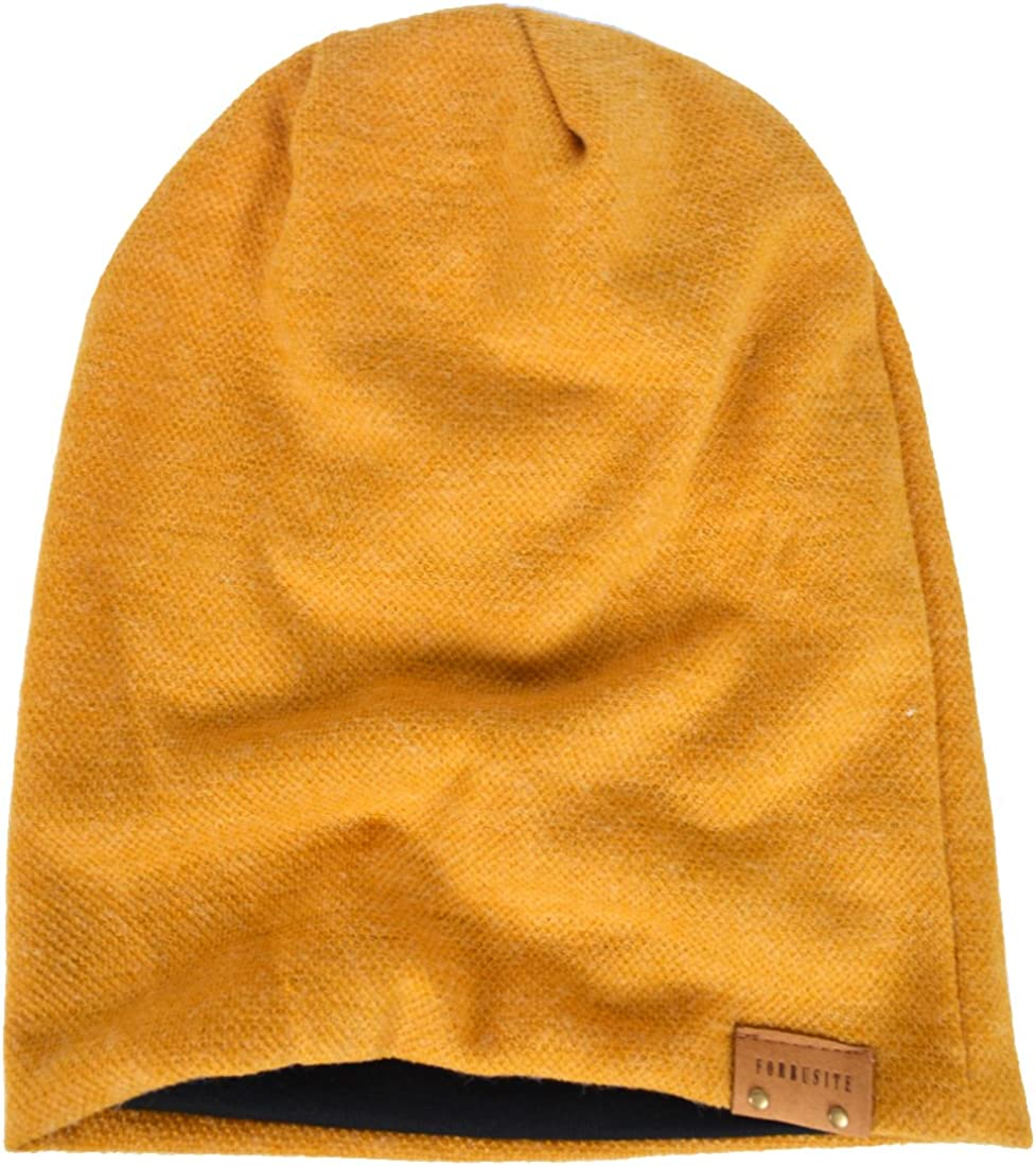 HISSHE Oversize Baggy Slouch Beanie Large Slouchy Skullcap Winter Summer Hat