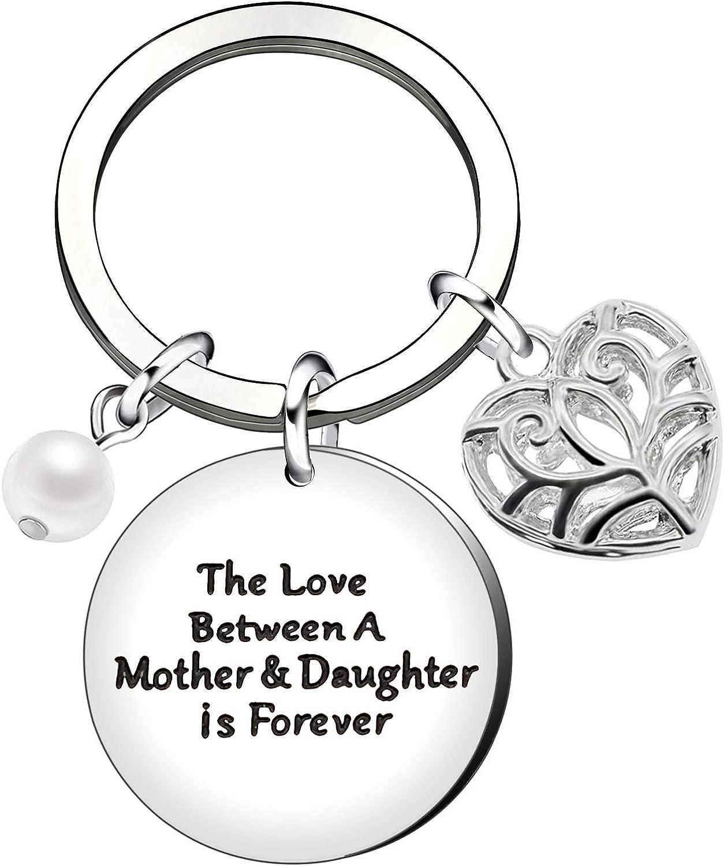 regalo para mam/á e hija llavero con perla Llaveros para el d/ía de la madre