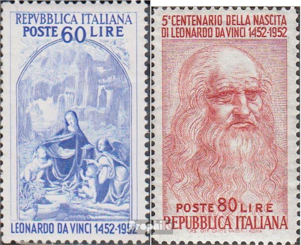 Prophila Collection Italia Michel.-No..: 877-878 (Completa.edición.) 1952 L. ya Que Vinci (Sellos para los coleccionistas) Pintura: Amazon.es: Juguetes y juegos