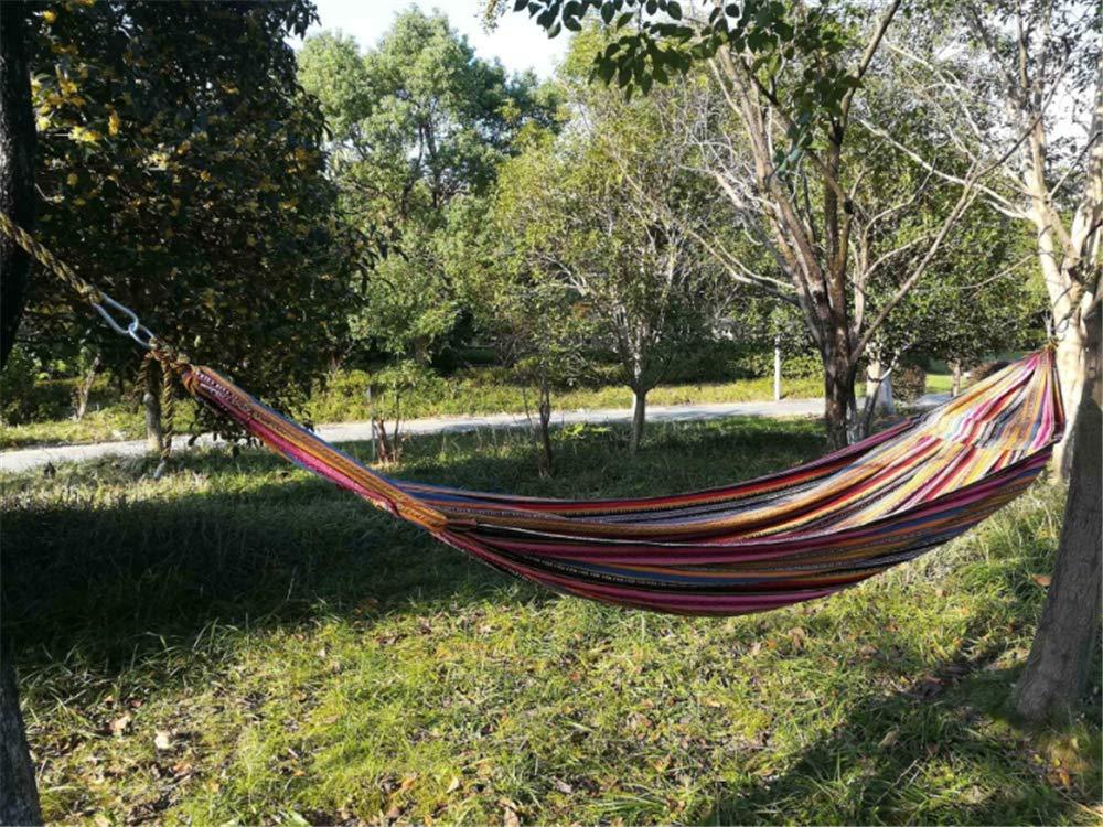 Ludage Outdoor-Camping Leinen Single Hängematte Größe (Länge  Breite): 261x96cm