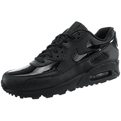 quality design 20a22 aa295 Nike Women s WMNS AIR MAX 90 LEA Trail Running Shoes, Black 002, 7.5 UK