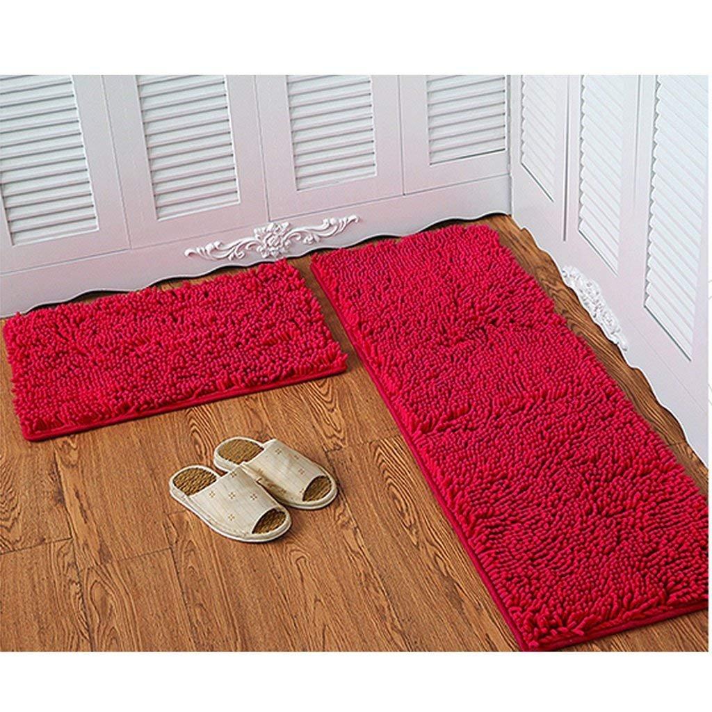 DSJ Chenille Matratze Tür Matratzen Schlafzimmer Tür Tür Tür Anti-Skid Pad Bad Küche Wasser Matte Mat Tür Matte B07G7QB728 | Zahlreiche In Vielfalt  d7132e