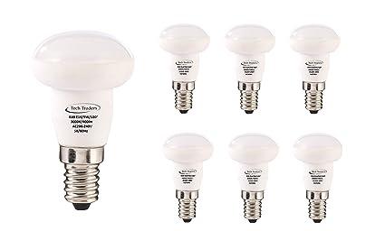 Bombillas LED reflectoras R39 E14, 5 W, luz blanca cálida, de Tech Traders