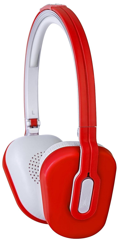 Altec Lansing MZX662-RED - Cascos estéreo (diseño para mujeres), color rojo: Amazon.es: Electrónica