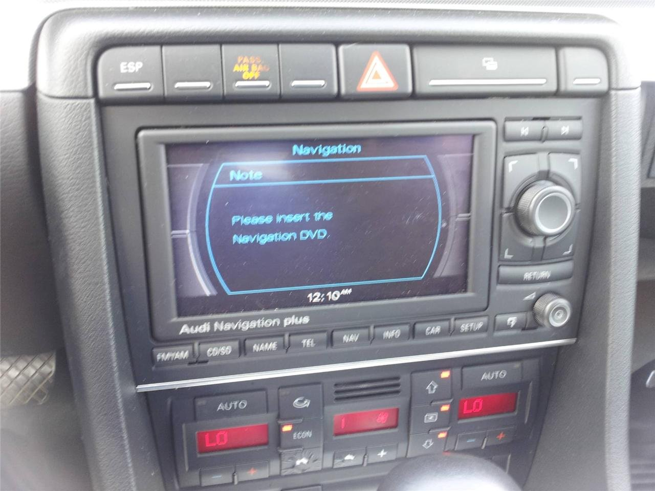 Amazon com: AUDI RNS-E Navigation GPS System LCD Display DVD