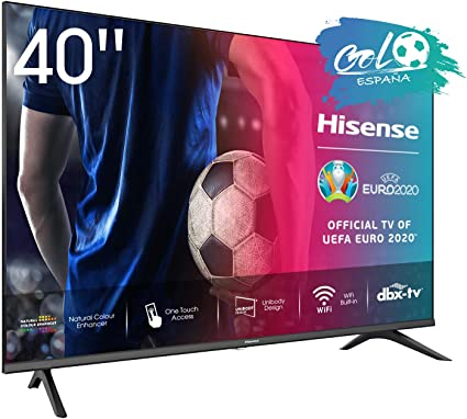 Hisense FHD TV 2020 40AE5500F - Smart TV Resolución Full HD, Natural Color Enhancer, Dolby Audio, Vidaa U 2.5 con IA, HDMI, USB, Salida auriculares: Amazon.es: Electrónica