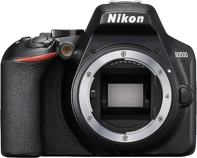 Nikon D3500 - Cámara réflex de 24 MP (Full HD, ISO de 100–25600 ...