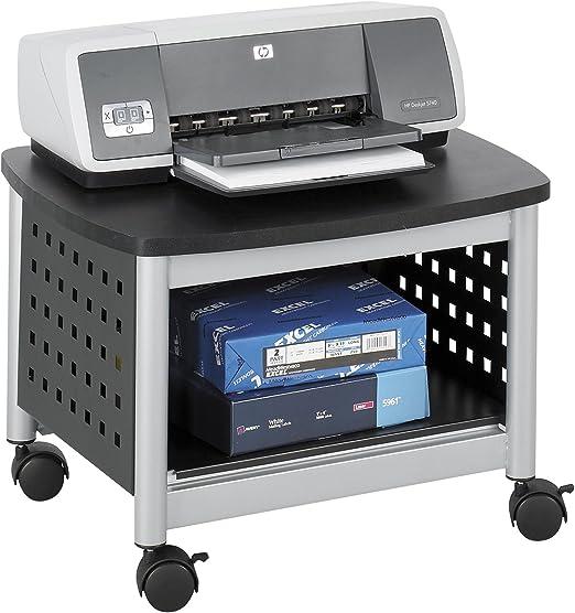 Safco 1855BL - Soporte para fotocopiadoras e impresoras (con ...