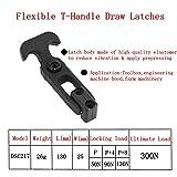 Creatyi 4 PCS Rubber Flexible T-Handle Draw