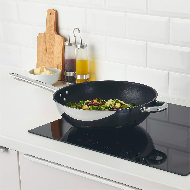 IKEA 203.436.48 Oumb/ärlig Wok Stainless Steel