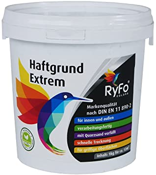 RyFo Colors Haftgrund Extrem Kg Größe Wählbar Fliesen - Haftgrund für fliesen auf fliesen