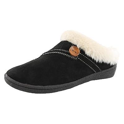Amazon.com   CLARKS Women's Rebecca Winter Slippers   Slippers