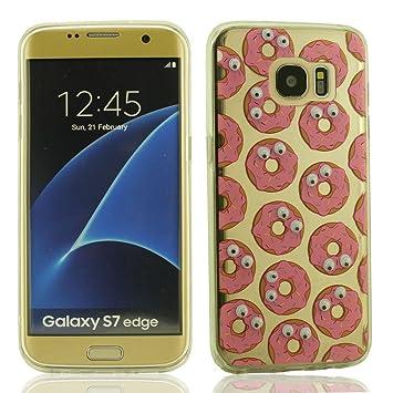 Samsung Galaxy S7 Edge Carcasa Funda Protectora, Donuts ...