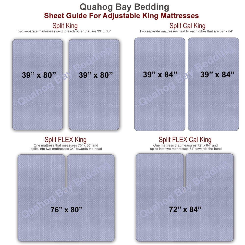Split FLEX Head King Luxury Mattress Pad - Temperature Regulating