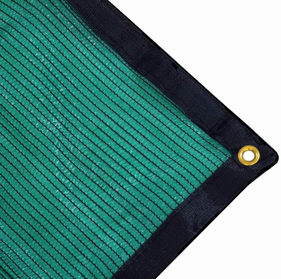 Harvest 70% Green Shade Cloth with Grommets, Premium Heavy Duty Mesh Tarp (12ft X 18ft)