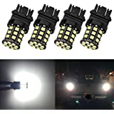 GIVEDOUA 3157 LED Bulb Super Bright 27-SMD 5050 Chips 3056 3156 3057 4157 LED Bulb Only Replacement for Brake Lights,Pack of 6pcs