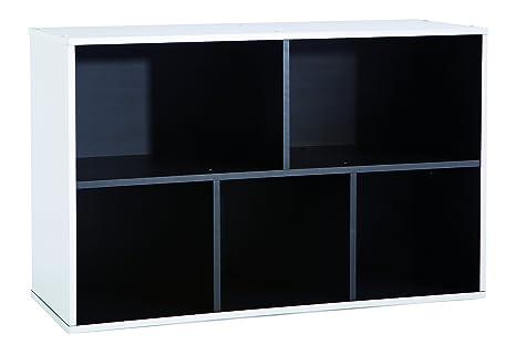 126/piezas pared estanter/ía Inbox Talla 2/agujeros Naranja Taller pared fuerte placa de pared