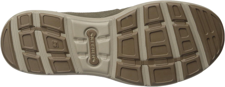Skechers Harper- Olney, Men's Lace-Up Shoes Khaki Leather