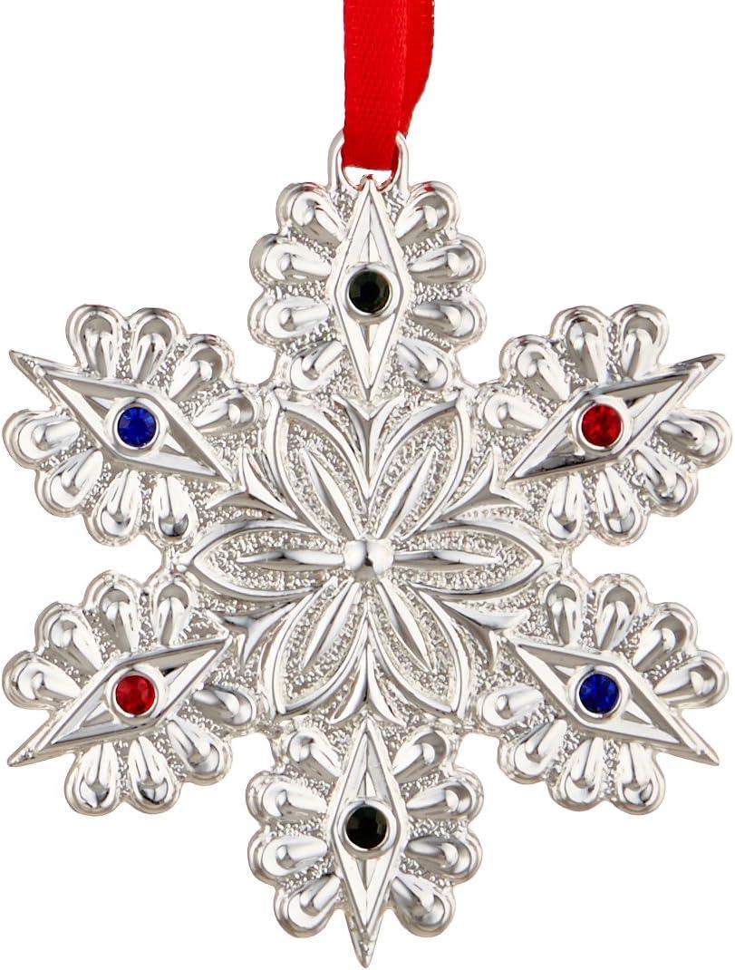 Lenox 867366 Jeweled Snowflake Ornament