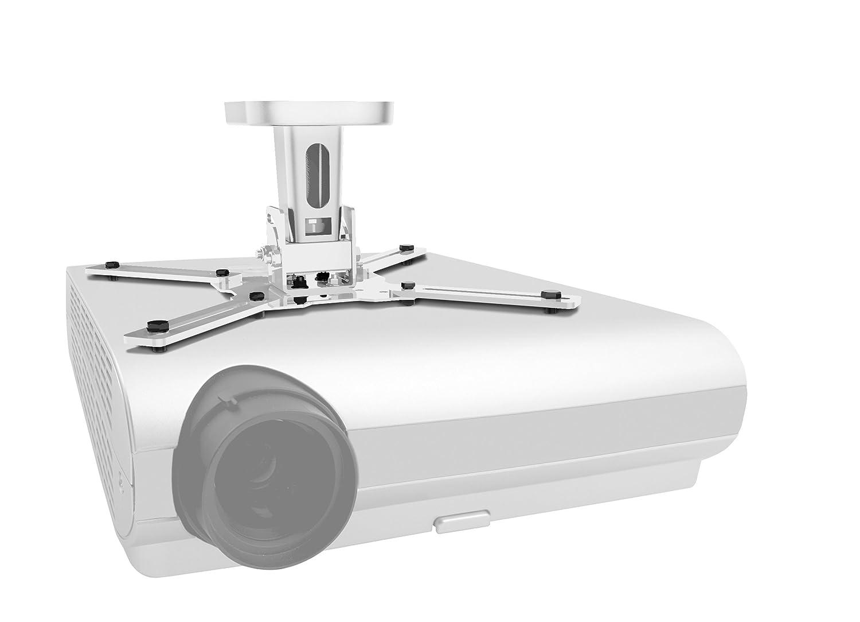 GüNstiger Verkauf Wemount 580001 W-vp01b Deckenhalterung Für Beamer-projektor Weiß Beamer-halterungen