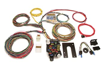 amazon com painless 10202 universal 18 circuit chassis wiring rh amazon com Wiring Harness Diagram Automotive Wiring Harness