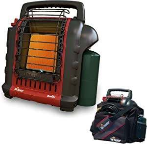 Mr. Heater F232000 Portable Buddy Heater with Portable Buddy Carry Bag Bundle (2 Items)