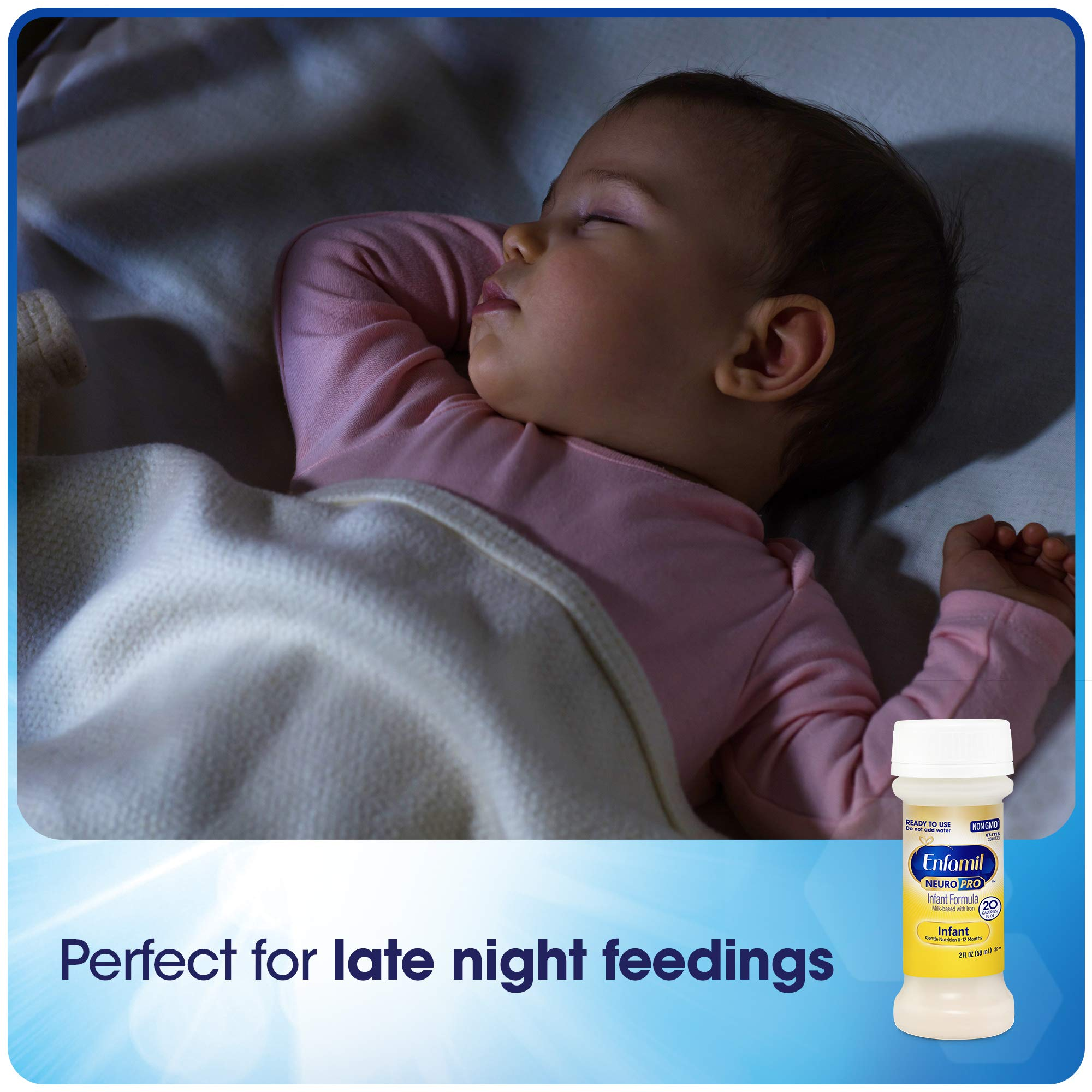 Enfamil NeuroPro Infant Formula - Brain Building Nutrition Inspired by Breast Milk - Ready to Use Liquid, 8 fl oz (24 count) Packaging May Vary by Enfamil (Image #8)