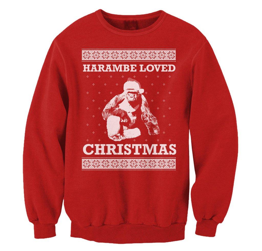 Pop Threads Harambe is My HaramBAE Mens Fleece Hoodie Sweatshirt